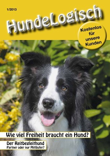 Heft 1/2013 - bei Hunde-logisch.de