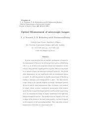 preprint (pdf) - Physics - University of Queensland