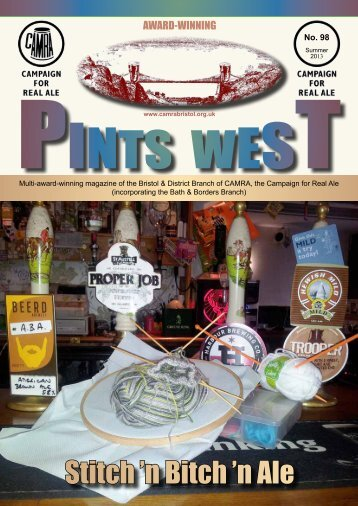 Pints West 98, Summer 2013 - Bristol & District CAMRA