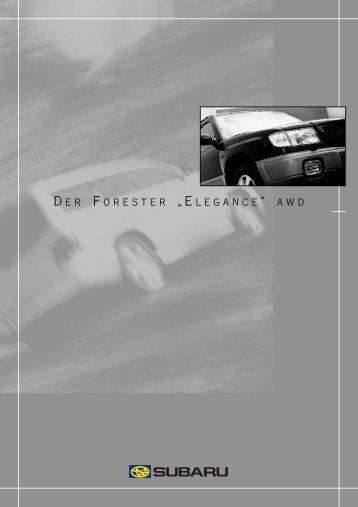 Technische Daten (pdf) - Subaru