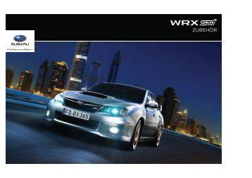 Zubehör-Prospekt inkl. Preisliste - Subaru