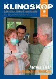 Klinoskop Nr. 5/2006 ( 622 KB im PDF - Klinikum Chemnitz