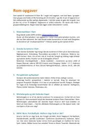 Rom-opgaver i 10-x - matematikfysik