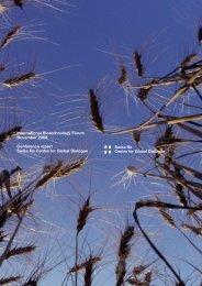 Swiss Re Biotech Report 07.04 - nccr trade regulation - swiss ...
