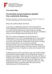 Die Rede als PDF zum Downloaden - Initiative Tageszeitung