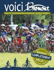 voici_bromont_vo l15_no1.pdf - Ville de Bromont