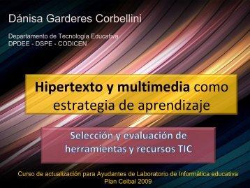Hipertexto y multimedia