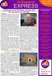 Newsletter 16 - Insect Investigations Ltd.