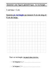 Dessiner une figure géométrique : le rectangle