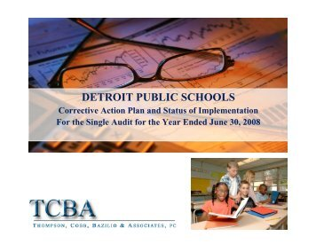 Corrective Action Plan and Status of Implementation for Fiscal Year ...