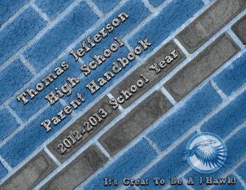 Parent Handbook - Jefferson High School - Cedar Rapids ...