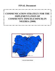 communication strategy for the implementation of ... - UNFPA Nigeria