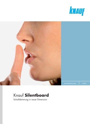 Knauf Silentboard 80 free magazines from knauf at