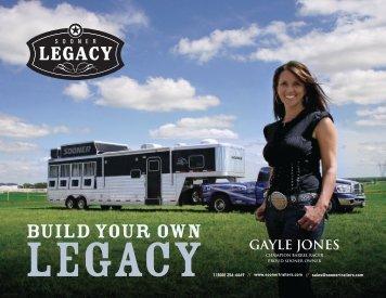 Gayle Jones Custom Legacy LQ - Sooner Trailer