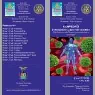 pieghevole L'Oncologia nell'era post genomica - rotary2110archivio.it