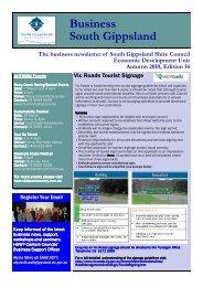 Business Newsletter Edition 16 Version 2.pub - South Gippsland ...