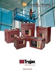 AWP/Access Brochure - Trojan Battery Company