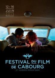 grille de programmation - Festival du Film de Cabourg
