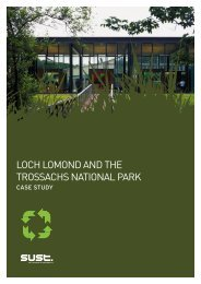 LOCH LOMOND AND THE TROSSACHS NATIONAL PARK - Sust.