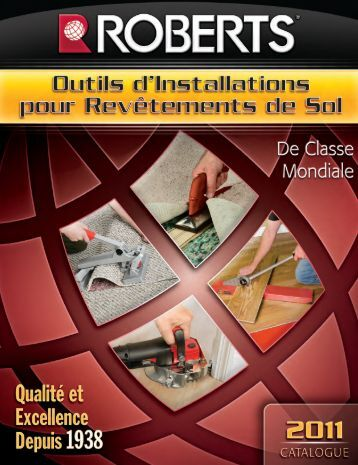 outils d'installation - Roberts Consolidated