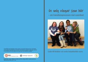 Guide till föräldrar och andra betydelsefulla vuxna - RBU