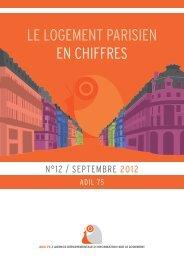 Le Logement parisien en chiffres - Adil