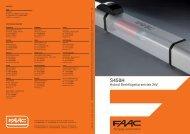 Hybrid Drehflügeltorantrieb 24V - FAAC GmbH