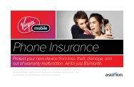 Phone Insurance - Virgin Mobile