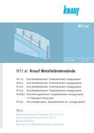 W11.at Knauf Metallständerwände - Knauf Österreich