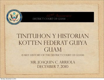 to view. - District Court of Guam