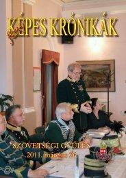 SZÖVETSÉGI GYŰLÉS 2011. március 26. - Magyar Huszár