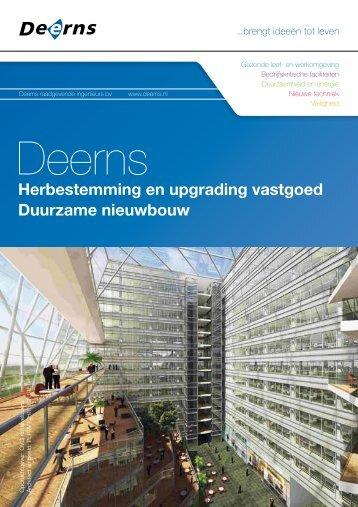 pdf Brochure Herbestemming en upgrading vastgoed ... - Deerns