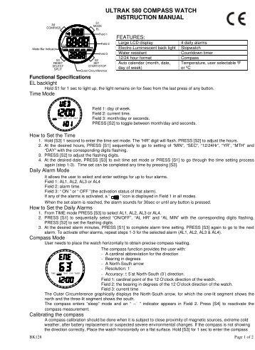 Ultrak 499 Instructions By Cei