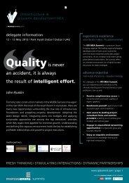 IPDMEA2013 - Brochure - architects24.com