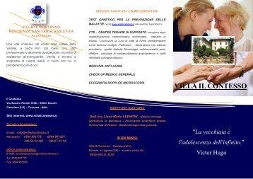 Scarica la brochure - LaCasadiRiposo.it
