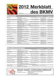 Schweiz. Solisten- und Ensembles-Wettbewerb - Bernischer ...