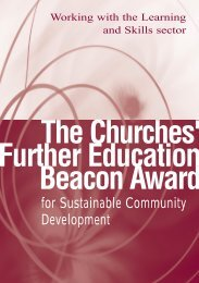 Beacon Award Booklet - Church of England