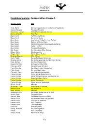 Empfehlungsliste: Ganzschriften Klasse 3 - Antolin