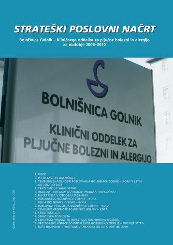 Strateško poslovni načrt 2006 - 2010 (.pdf)