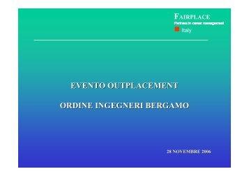 dispense - Ordine degli Ingegneri della Provincia di Bergamo