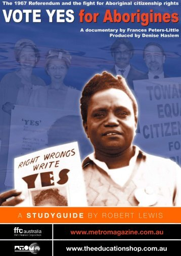 to download VOTE YES FOR ABORIGINES study guide. - Ronin Films