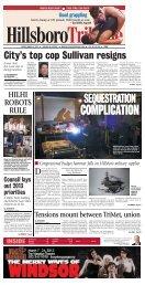 SEQUESTRATION - Portland Tribune