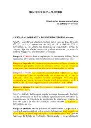 PROJETO DE LEI No. PL 897/2012 Dispõe sobre ... - Cejb2.com.br