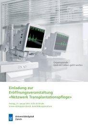 Netzwerk Transplantationspflege - Transplantation (USZ)