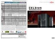 CELSIUS Workstation - 富士通