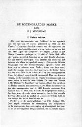 De Rozengaarder marke - Historisch Centrum Overijssel