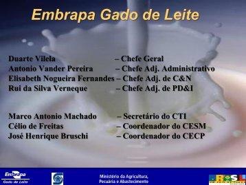 Embrapa Gado de Leite - Pesagro-Rio