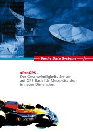 xProGPS - Suchy Data Systems GmbH