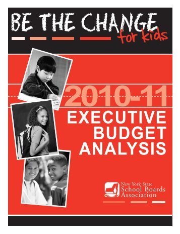 2010-11 Executive Budget Analysis - New York State School Boards ...