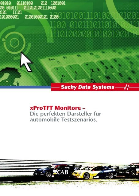 xProTFT Monitore - Suchy Data Systems GmbH